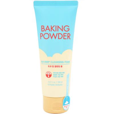 Очищающая пенка для снятия ББ-крема с содой Etude House Baking Powder B.B Deep Cleansing Foam, 160 мл