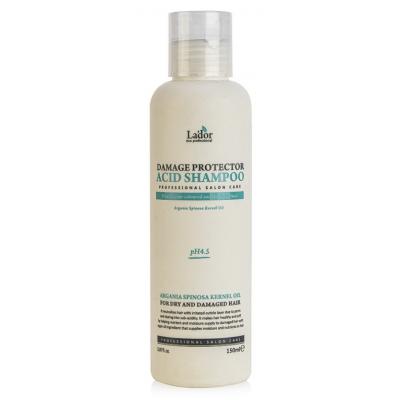 La'dor Шампунь для волос с аргановым маслом Damaged Protector Acid Shampoo, 150 мл