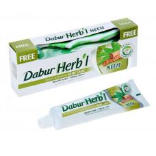 Зубная паста+зубная щётка Dabur herb'l Neem (дабур хербл ним) (150 г)