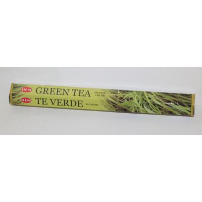 Благовония HEM Green Tea «Зеленый чай», 20 палочек