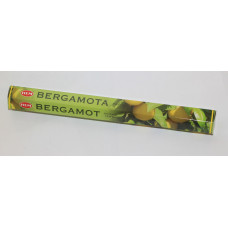 Благовония  HEM Bergamot «Бергамот», 20 палочек