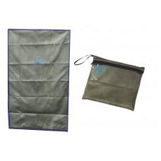 Коврик для намаза дорожный в сумочке (зеленый)