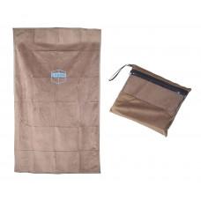 Коврик для намаза дорожный в сумочке (коричневый)