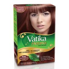 Краска для волос на основе хны Vatika Henna бургунди, 60 г