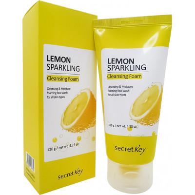 Secret Key Пенка для умывания с экстрактом лимона Lemon Sparkling Cleansing Foam, (120 г)
