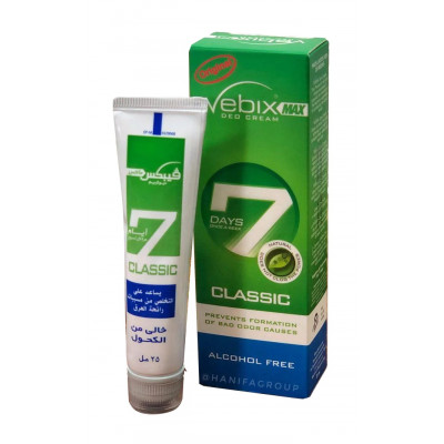 Дезодорант VEBIX Deo Cream Max 7 Days (Вебикс део крем 7 дней) классик