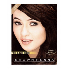 Краска для волос D-VA brown henna