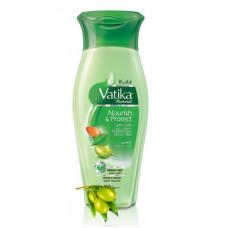 Шампунь для волос Dabur VATIKA Питание и защита (400 мл)