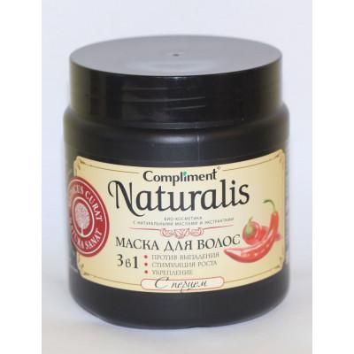 Compliment Naturalis Набор Маска для волос с перцем 3 в 1, 2 шт по 500 мл