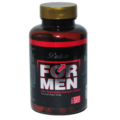 For Men Balen для повышения потенции, 120 капсул. Турция