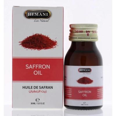 Масло шафрана Hemani (Saffron oil Hemani) 30 мл