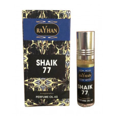 Масляные духи Shaik 77 Rayhan (6 мл)