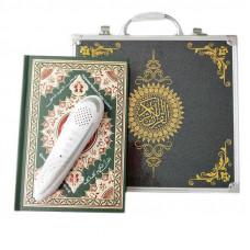 Коран с электронной ручкой в черном кейсе m9+ (средний)