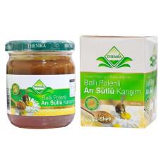 Медовая паста с маточным молочком и пыльцой для детей