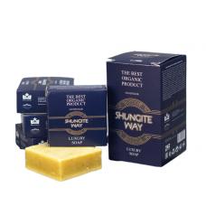 Шунгитовое мыло Shungite way (в синей упаковке)