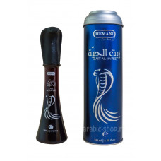 Змеиное масло «Zait Al Hayee» с жиром кобры для волос Hemani, 250 мл
