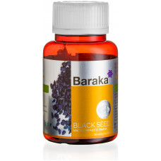 Масло черного тмина «Барака» в капсулах - Диабсол, 90 шт по 750 мг