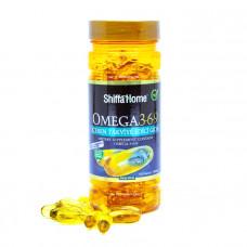 Рыбий жир Omega 3-6-9 Omega 3 Shiffa Home, 100 капс.