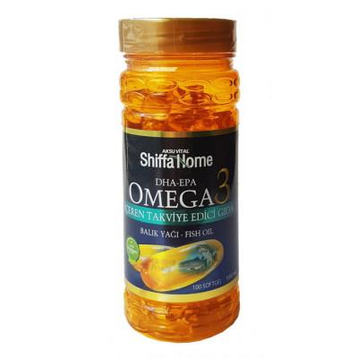 Рыбий жир Omega 3 Shiffa Home, 100 капс.