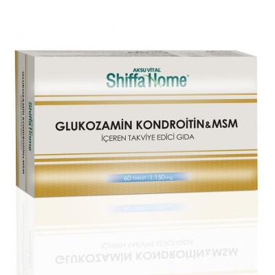 Глюкозамин Хондроитин & Msm Shiffa Home, 60 табл.
